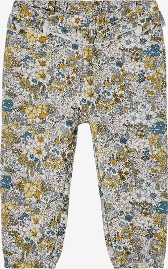 NAME IT Hose 'Dahlia' in blau / gelb / schwarz / naturweiß, Produktansicht