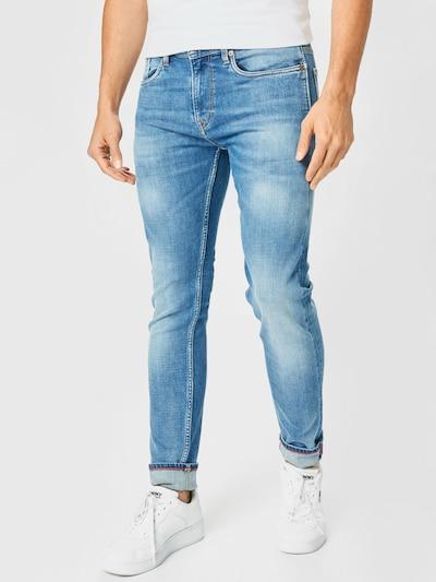 Pepe Jeans Jeans 'HATCH HERITAGE' i blue denim, Modelvisning