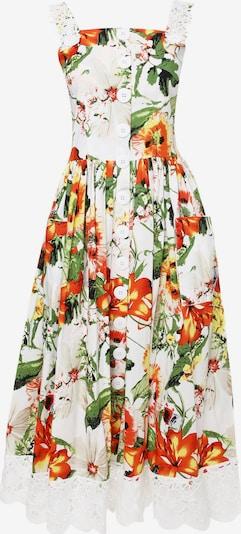 Madam-T Sommerkleid 'DOLCE' in beige / orange, Produktansicht