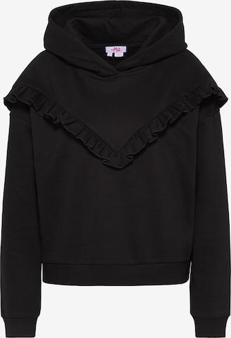MYMO Sweatshirt in Black