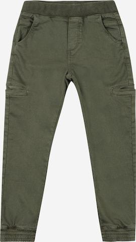OVS Püksid, värv roheline