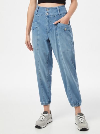 MAC Džíny s kapsami 'RICH KIRA' - modrá džínovina, Model/ka