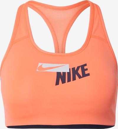 Reggiseno sportivo NIKE di colore blu notte / mandarino / bianco, Visualizzazione prodotti