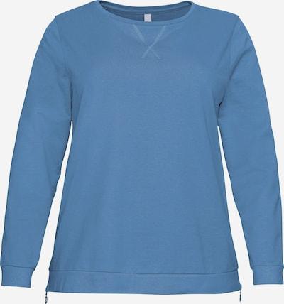 SHEEGO Μπλούζα φούτερ σε μπλε ντένιμ, Άποψη προϊόντος