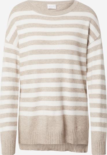 Pullover VILA di colore beige / bianco, Visualizzazione prodotti