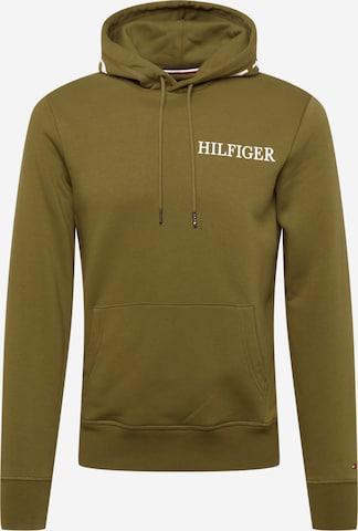 TOMMY HILFIGER Dressipluus, värv roheline