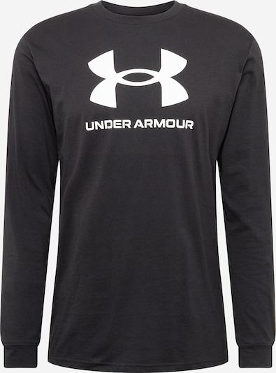 UNDER ARMOUR Sporta krekls melns / balts, Preces skats