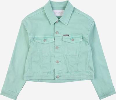 Calvin Klein Jeans Starpsezonu jaka 'GD STR' piparmētru, Preces skats