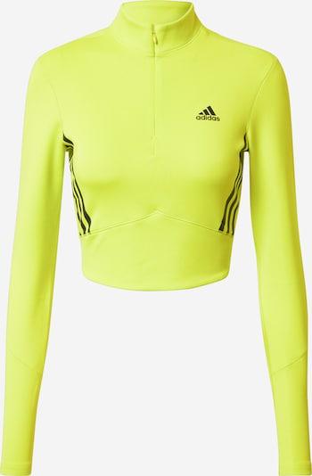 ADIDAS PERFORMANCE Sportshirt in gelb / schwarz, Produktansicht