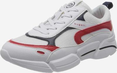 bugatti Sneakers in rot / schwarz / weiß, Produktansicht