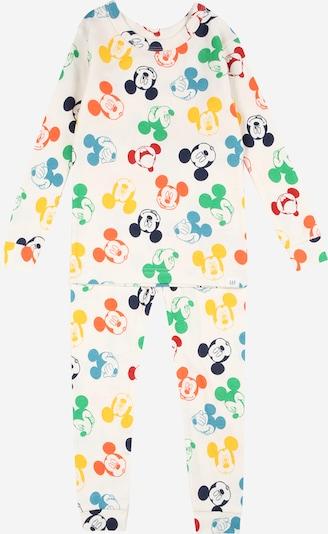 GAP Schlafanzug in mischfarben / weiß, Produktansicht