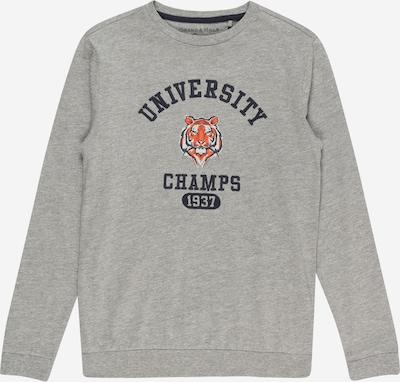 OVS Shirt in navy / graumeliert / orange / weiß, Produktansicht