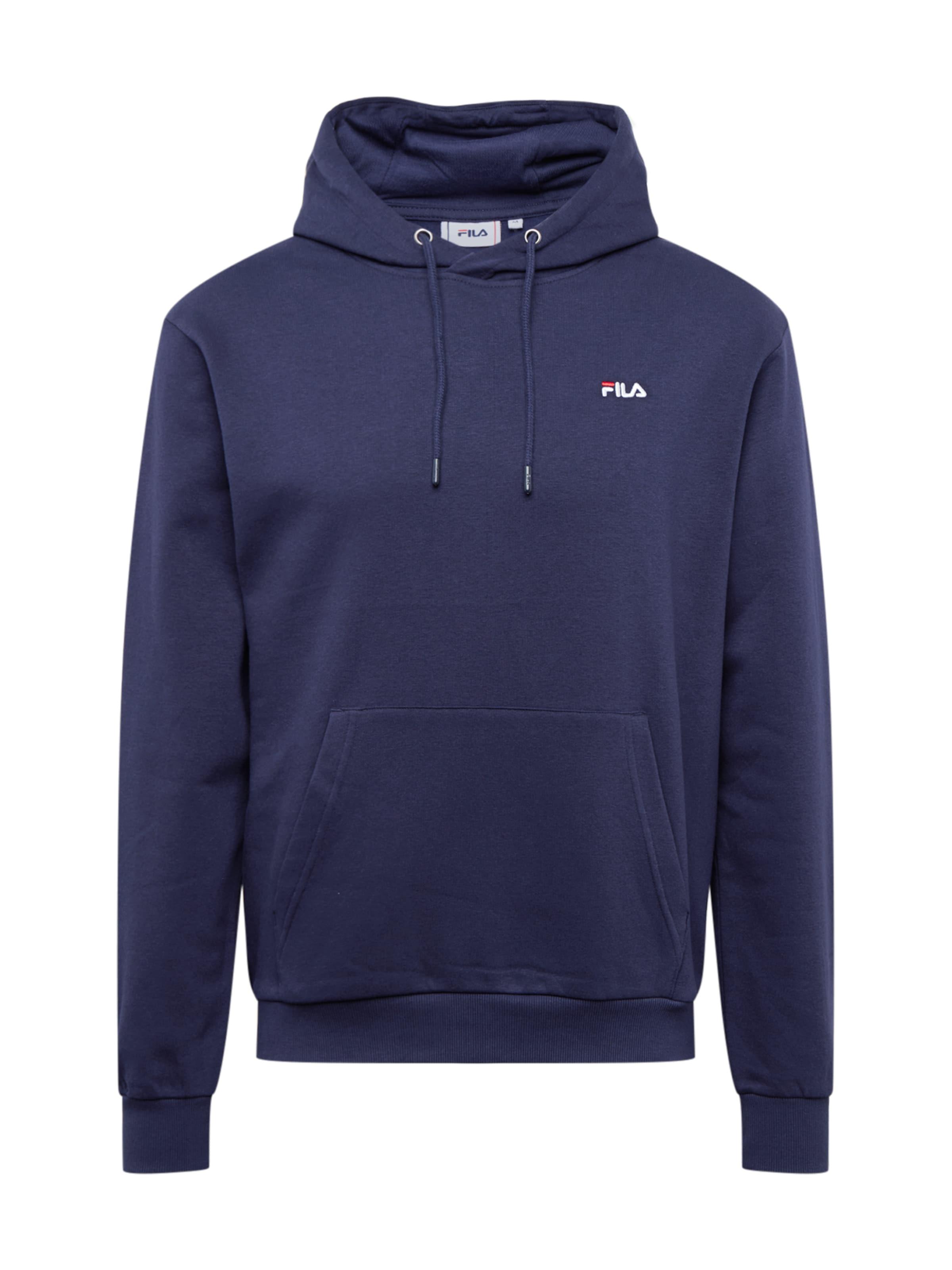 FILA Sweatshirt 'EDISON' i marinblå