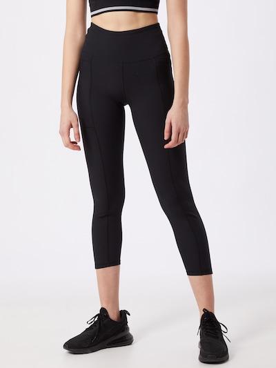 Cotton On Leggings in dunkelgrau / schwarz, Modelansicht