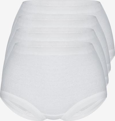 sassa Taillenslip 'FINE RIB' in weiß, Produktansicht