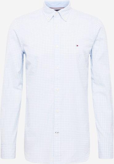 TOMMY HILFIGER Hemd in navy / hellblau / feuerrot / weiß, Produktansicht