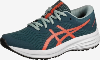 ASICS Laufschuh 'Patriot 12' in pastellblau / orange, Produktansicht