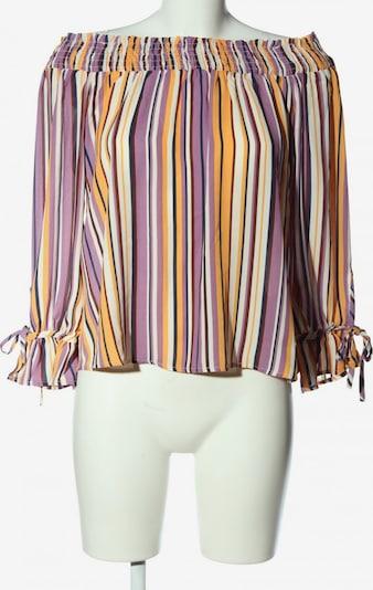 Active USA Carmen-Bluse in M in pastellgelb / lila / weiß, Produktansicht