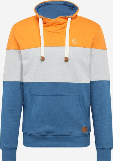 TOM TAILOR Sweat-shirt en orange / blanc, Vue avec produit