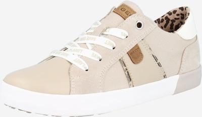 GEOX Zapatillas deportivas 'KILWI' en beige / arena / antracita / blanco, Vista del producto