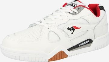Sneaker low de la KangaROOS pe alb