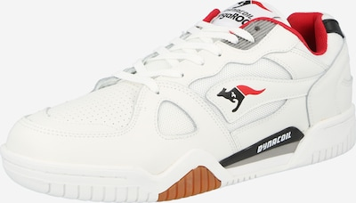 Sneaker low KangaROOS pe roșu / negru / alb, Vizualizare produs