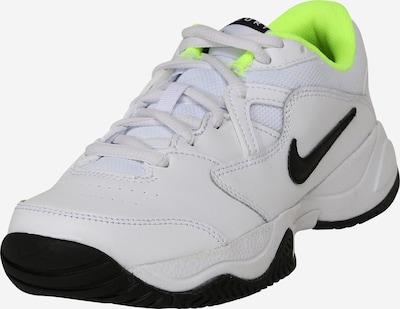Nike Sportswear Sportske cipele 'Court Lite 2' u neonsko zelena / crna / bijela, Pregled proizvoda