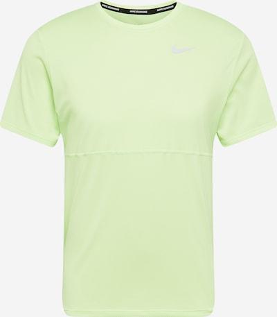NIKE Funkcionalna majica 'Breathe'   siva / limeta barva, Prikaz izdelka