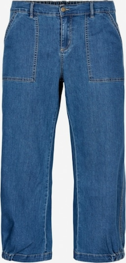 GOZZIP Jeans 'Clara' in blau, Produktansicht