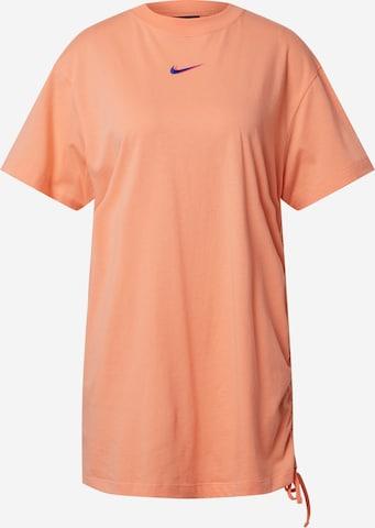 Nike Sportswear Kjoler 'W NSW ESSNTL DRESS PRNT' i oransje