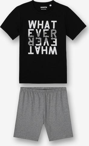 Pyjama SANETTA en noir