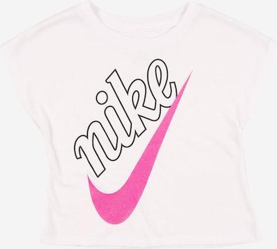Nike Sportswear T-Shirt in pink / schwarz / weiß, Produktansicht