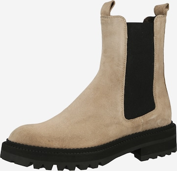 Billi Bi Chelsea Boots in Beige