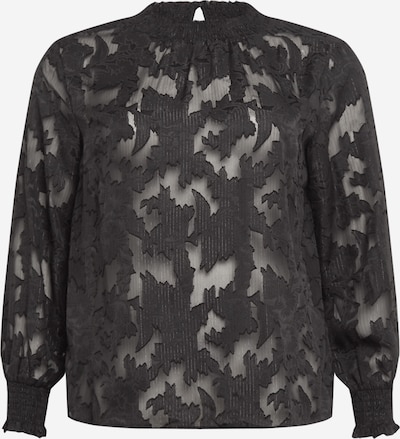 KAFFE CURVE Bluse 'Bera' in schwarz, Produktansicht