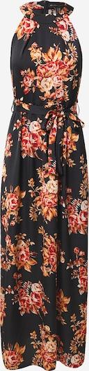 Mela London Kleid in orange / rot / schwarz, Produktansicht