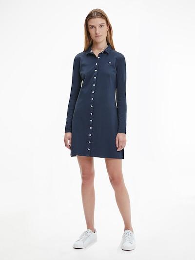 Tommy Jeans Kleid in blau, Modelansicht