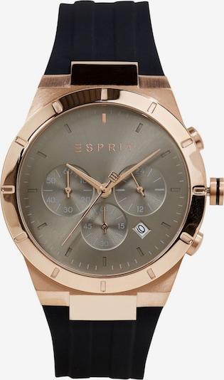 ESPRIT Analoog horloge in de kleur Goud / Zwart, Productweergave