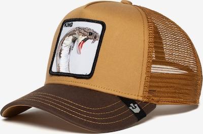 GOORIN Bros. Cap 'Biter' in braun / hellbraun / dunkelbraun / mischfarben / weiß, Produktansicht