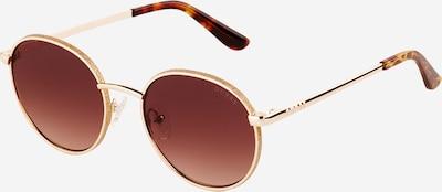 GUESS Solglasögon i brun / guld, Produktvy