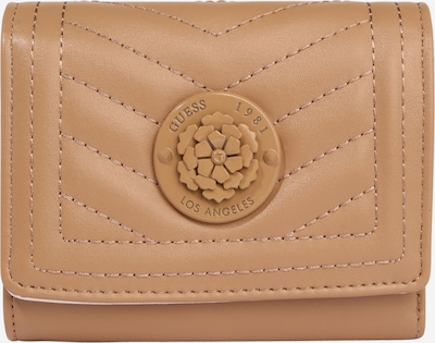 GUESS Porte-monnaies 'LIDA' en beige clair, Vue avec produit