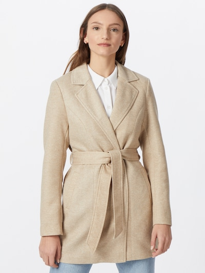 ONLY Between-seasons coat 'Karen' in Powder, View model
