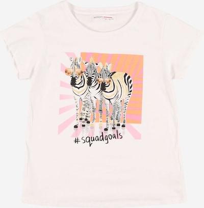 MINOTI T-Shirt en mélange de couleurs / blanc, Vue avec produit