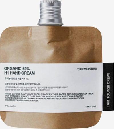 Toun28 Handcreme 'H1 Organic' in weiß, Produktansicht