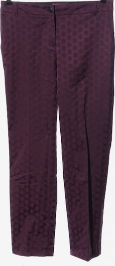 Franco Callegari Stoffhose in S in lila, Produktansicht