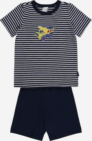 SCHIESSER Pyjamas i blå