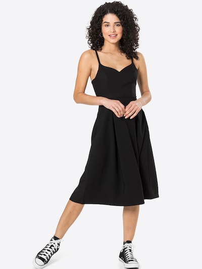 Rochie de cocktail 'Liana Dress' ABOUT YOU pe negru, Vizualizare model