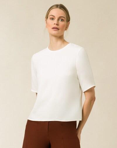Bluză IVY & OAK pe alb, Vizualizare model