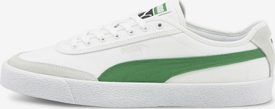 PUMA Sneaker in grün / weiß, Produktansicht