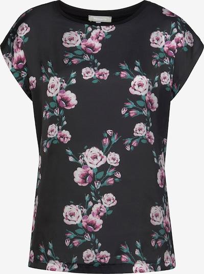 TAMARIS Shirtbluse in grün / dunkellila / hellpink / schwarz, Produktansicht