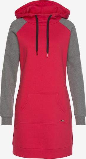BUFFALO Šaty - šedý melír / červená, Produkt